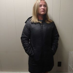 "Womens Columbia ""OmniHeat"" fall coat"